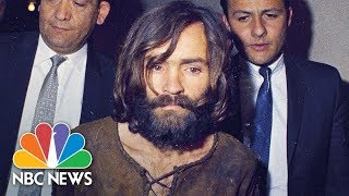 Flashback: The Infamous Mass Murderer Charles Manson | NBC News - NBCNEWS