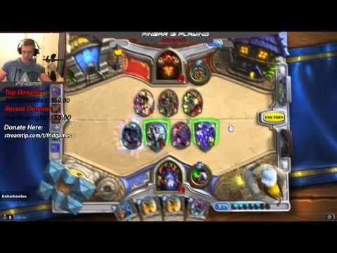Hearthstone Friendly Challenge VS TycerX