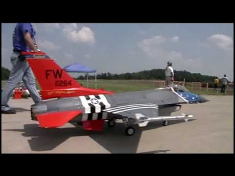 US Largest R C Jet Turbine Airshow Jets Over Kentucky 2010 Video 5 of 6
