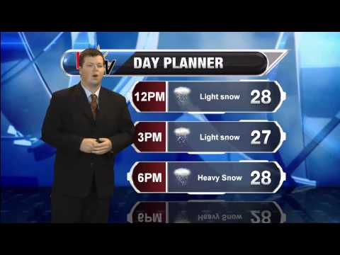 January 26th 2015 Morning Forecast