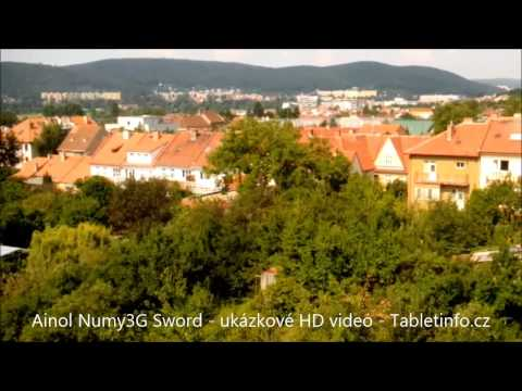 Tablet Ainol Numy3G Sword - ukázkové HD video - Tabletinfo.cz