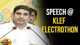 IT Minister Sri Nara Lokesh participates as Chief Guest to KLEF Electrothon | Mango News - MANGONEWS
