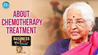Ushalakshmi Kumari About Chemotherapy Treatment || Telugu Icons With iDream - IDREAMMOVIES