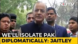 """Will Ensure Pak Isolation, Says Centre, Warns Of """"Heavy Price"""" - NDTV"""