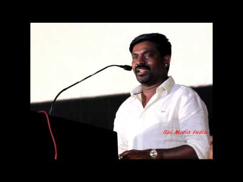 Singer Velmurugan speaks at Sivappu Audio Launch