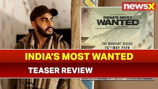 India's Most Wanted Teaser Review: Arjun Kapoor Packs a Strong Punch in Raj Kumar Gupta's Thriller - NEWSXLIVE