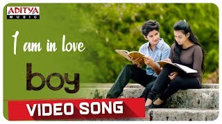 I am in love Video Song || Boy Songs || Lakshya Sinha, Sahiti || Elwin James and Jaya Prakash.J - ADITYAMUSIC