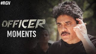 Officer Moments | #OfficerReportingOnJune1st | RGV | Nagarjuna | Myra Sareen | Ravi Shankar - RGV