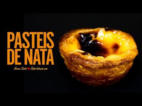 Receita de Pastéis de Nata