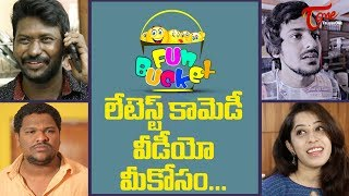 BEST OF FUN BUCKET | Funny Compilation Vol #55 | Back to Back Comedy Punches | TeluguOne - TELUGUONE
