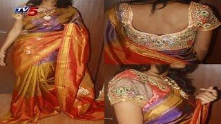 Uppada Pattu Light Lavander Saree | Snehita : TV5 News - TV5NEWSCHANNEL