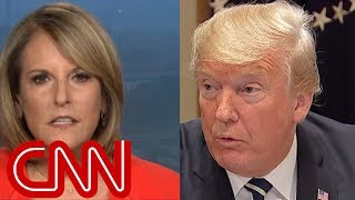 Gloria Borger: Trump looked like he was in a hostage tape - CNN