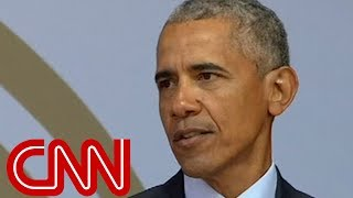 Obama speaks about 'strange and uncertain times' - CNN