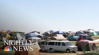 Americans Hit The Road To See The Eclipse | NBC Nightly News - NBCNEWS