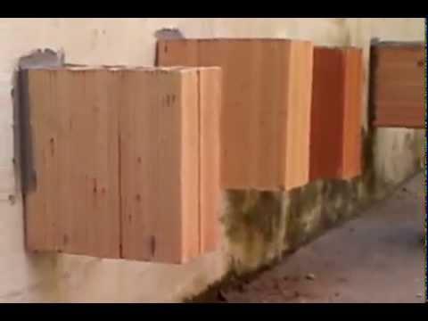 Massa cola bloco e tijolo