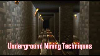Royalty FreeSuspense:Underground Mining Techniques