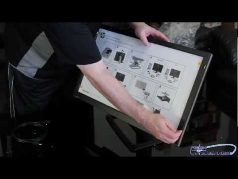 """HP ZR2740w 27"""" LED Backlit IPS LCD Monitor Unboxing and Hands On"""