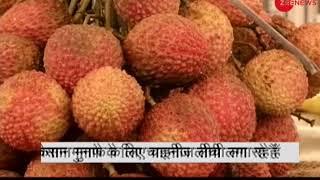 Deshhit: Chinese Litchi replaces famous Muzaffarpur Litchi in markets - ZEENEWS