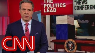 Tapper: Trump's battle with facts continues - CNN