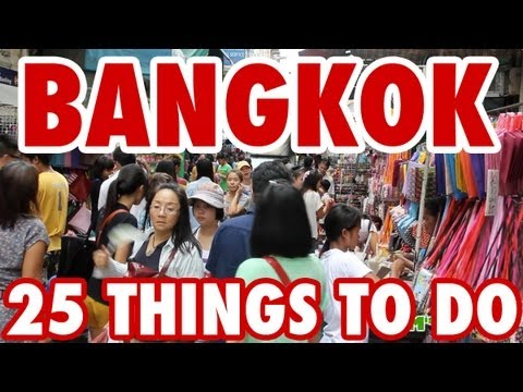 25 Amazing Things To Do in Bangkok Thailand