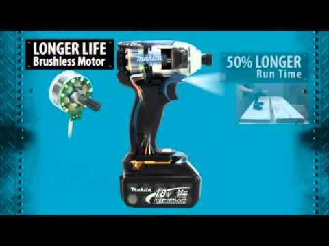 MAKITA bezszczotkowy silnik prądu stałego