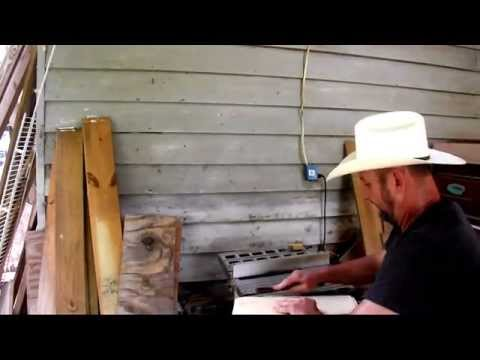 BEE BOX CUTTING Frame Rest Rabbit Joint Honeybee Hive Table Saw Beekeeping Tip John Pluta Georgia Be