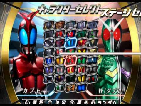 Kamen Rider Climax Heroes OOO + gameplay + download PSP