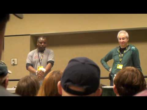 Brent Spiner & LeVar Burton Q&A Panel (Part 5/5)