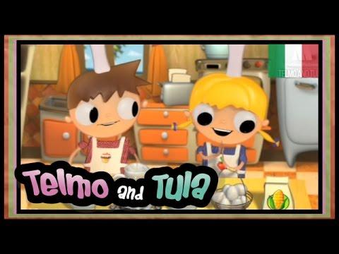 Telmo e Tula - Ricetta gelato alla crema - cartoni e intrattenimento bambini