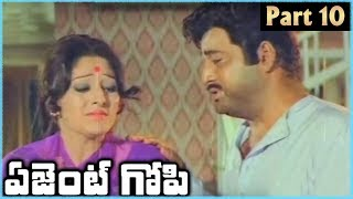 Super Star Krishna Superhit Telugu Movie AGENT GOPI | Part 10 | Krishna Jayapradha - RAJSHRITELUGU