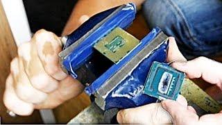 Разгон процессора - снимаем крышку для лучшего охлаждения ядра