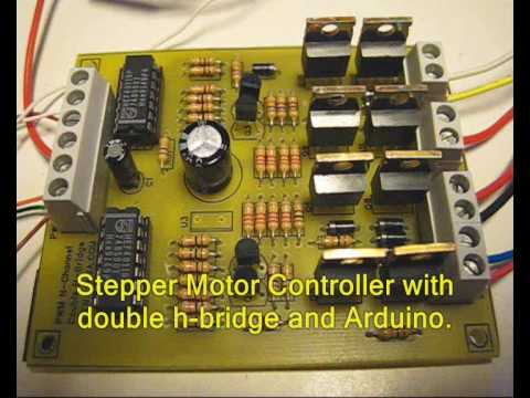 Arduino Stepper Motor Controller (Bipolar) - First Test...