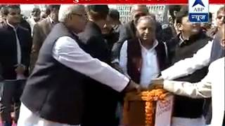 Mulayam, Akhilesh inaugurate medical college in Rampur - ABPNEWSTV