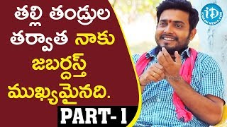 Jabardasth Comedians Getup Seenu and Kirak RP Interview Part #1 || Talking Movies With iDream - IDREAMMOVIES