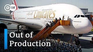 Airbus puts super jumbo A380 out of production | DW News - DEUTSCHEWELLEENGLISH