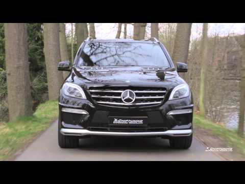 New Mercedes ML 63 AMG tuning to 660 HP with amazing exhaust SOUND and REVS