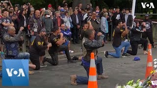 New Zealand Biker Gang Perform in Memory of Shooting Victims - VOAVIDEO