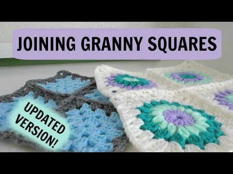How to Join Normal and Starburst Granny Squares!