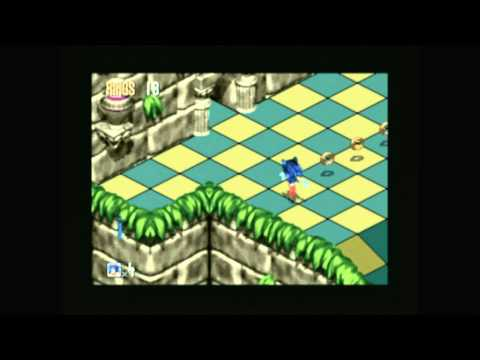 CGRundertow - SONIC 3D BLAST for Sega Genesis Video Game Review