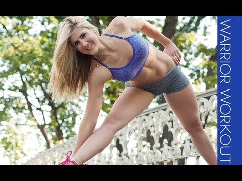 Women's Warrior Cardio Workout -- 4 Fat Burning Total Body Moves