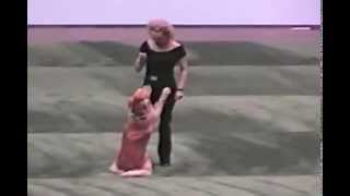 Amazing dog and owner dance routine