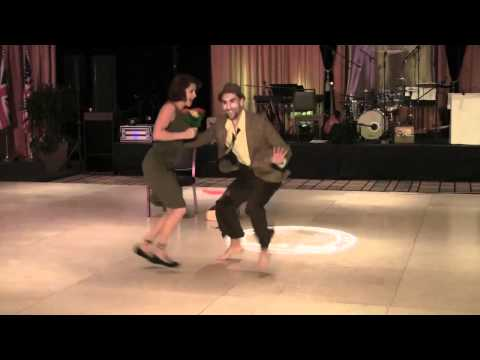 2011 ILHC Lindy Hop Showcase - Max Pitruzella &amp; Annie Trudeau