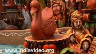 Terracotta artifacts, Delhi, Surajkund Crafts Mela, Heritage, Culture, India