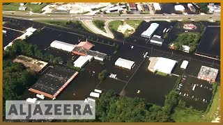 🇺🇸 Hurricane Florence aftermath: Pollution spills into waterways l Al Jazeera English - ALJAZEERAENGLISH