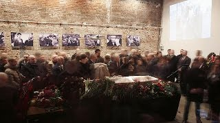 تشييع جثمان السياسي الروسي
