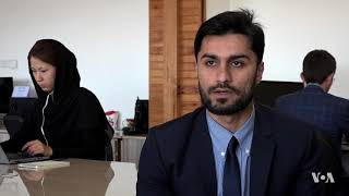 Kabul IT Company Designs Buber, the City's Own Online Taxi App - VOAVIDEO