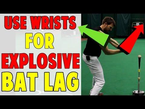 Hands Forward Wrists Back | Bat Lag Baseball Hitting Drill (Pro Speed Baseball)