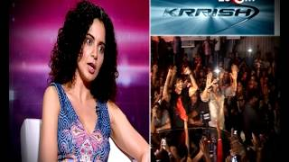 Kangna Ranaut talks about success of Krrish 3, Ups & Downs in her career & more