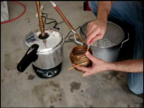 Pressure Cooker Moonshine Stills