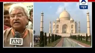 Taj Mahal should be given to Waqf board, says Azam Khan l BJP hits out - ABPNEWSTV
